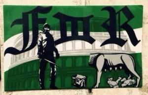 Europa League: adesivo shock dei tifosi del Feyenoord con la Lupa romana decapitata