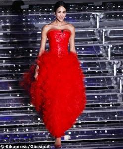 rocio vestito rosso